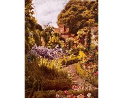 Knot Garden greetings card
