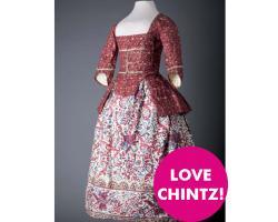 Chintz Postcard Girls Jacket and Petticoat Image