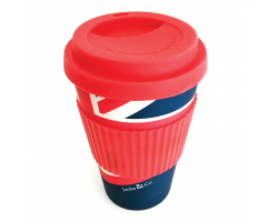 Jacks & Co. Union Jack Bamboo Travel Mug Image