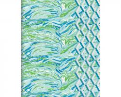 Designers Guild Jourdain Handmade Embroidered A5 Journal