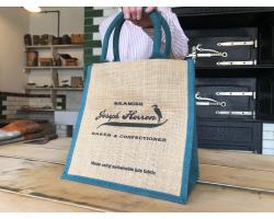 Herron's Bakery Jute Bag