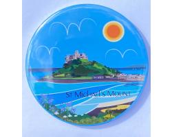 St Michael's Mount Top Town Magnet
