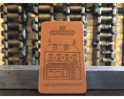Sweet Shop Leather Magnet