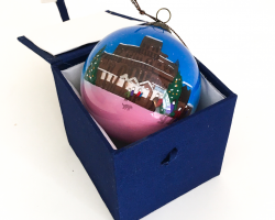 Chester Christmas Markets Glass Bauble