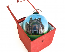 Chester Cathedral Glass Bauble
