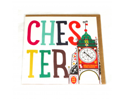 Love Your Nation Chester Eastgate Greetings Card
