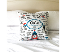 "Chester ""The Original Deva"" Cushion Cover Image"
