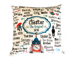 "Chester ""The Original Deva"" Cushion Cover"