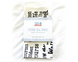 """The Original Deva"" Tea Towel Image"