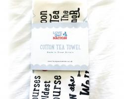 """The Original Deva"" Tea Towel"