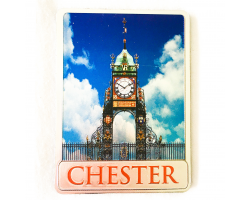 Metallic Chester Eastgate Clock Magnet