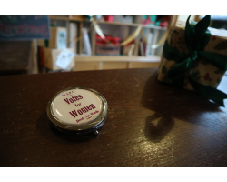 Votes for Women Pocket Mirror - Designed in our 1900s Print Shop
