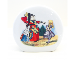 Alice in Wonderland Fine Porcelain Money Box