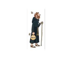 Monk with Honey Bookmark