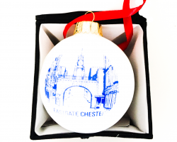 Eastgate Chester Ceramic Bauble