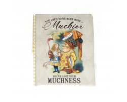 "Alice in Wonderland ""Much More Muchier"" Magnet"
