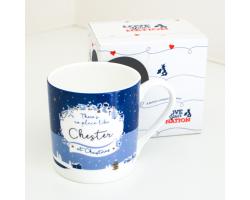 Chester at Christmas Mug