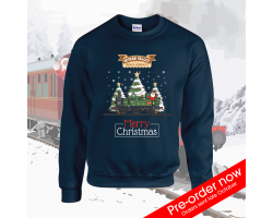 Adult - Limited Edition Severn Valley Railway Christmas Jumper Image