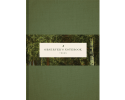 Observer's Notebook: Trees (Journal)