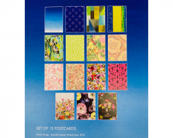 Out of the Blue Exhibition postcard pack