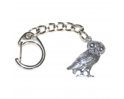 Roman Owl Keyring