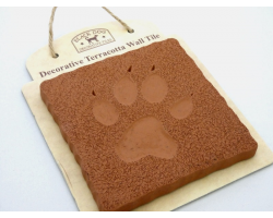 TILE - DOG PAW PRINT