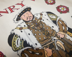 TOTE BAG- HENRY VIII & WIVES