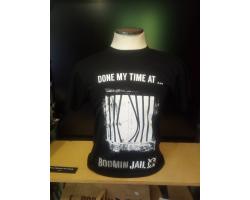 Adult T-shirt Bars Design SML