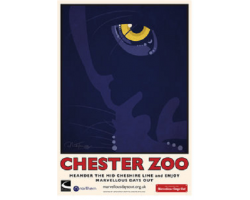 A3 Chester Zoo Panther Poster