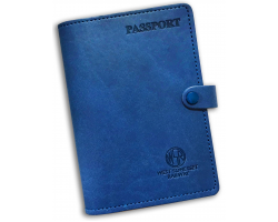 WSR Passport Holder: Blue