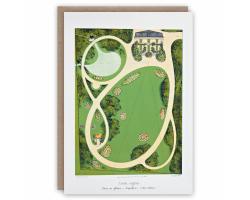 Jardin Anglais greetings card