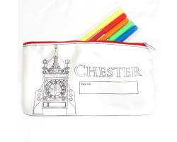 Chester Pencil Case and Markers Set