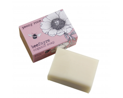 Beefayre peony rose organic soap