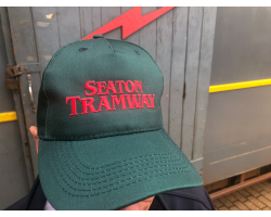 Seaton Tramway Cap - Green