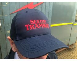 Seaton Tramway Cap - Blue