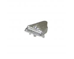 Music Pin Badge - Piano