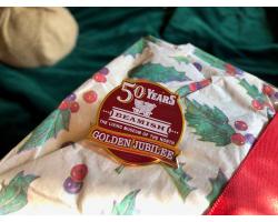 Golden Jubilee Pin Badge