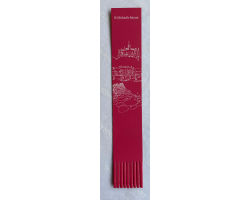 Architectural - Leather Bookmark - Pink