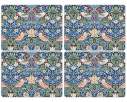 Strawberry Thief Blue Pattern Pimpernel Placemats