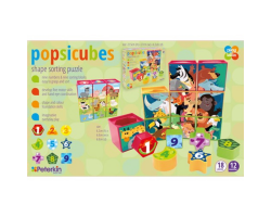 Popsicubes Shape Sorting Puzzle