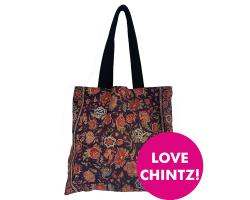 Tote Bag Chintz Palampore