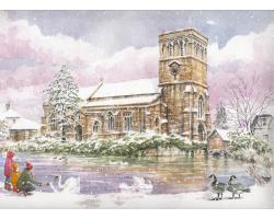 Haddenham in Winter