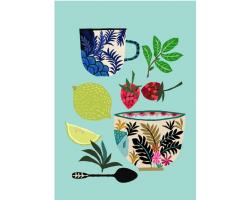 Herbal Tea greetings card