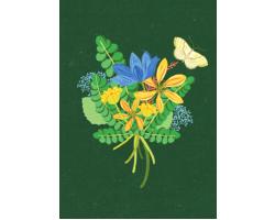 Posy greetings card
