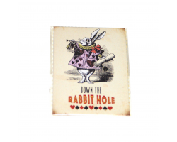 "Alice in Wonderland ""Down the Rabbit Hole"" Magnet"