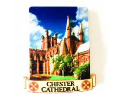 Resin Chester Cathedral Magnet