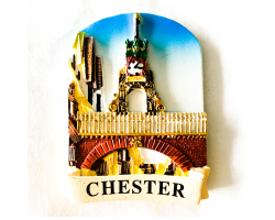 Resin Eastgate Clock Magnet Image