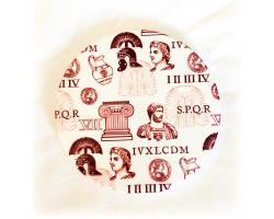 Roman Ceramic Coaster