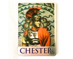 Metallic Chester Roman Magnet