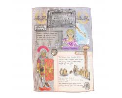 Roman Chester Tea Towel Image